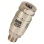 Поворотная муфта для консоли, 280бар, 40 л/мин, 120 °C, вход-1/4внут, выход-3/8внеш, нержавеющая ста