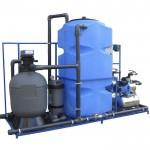 Система оборотного водоснабжения АРОС-1 + профессиональный картридж +дозирующий насос 00010748