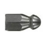 Форсунка каналопромывочная (с боем вперед и назад, вход 1/8внут, 1х3 отверстие, размер 035) М