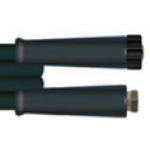 Шланг ВД двухоплёточный, (EU) 2SN-08, гайка M22x1,5-гайка 3/8, 10m, 400bar для COMET, DELVIR