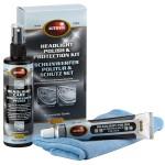 Набор для полировки и защиты пластиковых фар  Scheinwerfer Politur & Schutz set