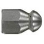 Форсунка каналопромывочная (с боем назад, вход 1/4внут, 3 отверстия, размер 050)