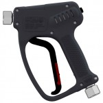 Пистолет RL 82, 135bar, 120l/min, 100°C, вход-1/2внут, выход-1/2внут, нерж.сталь РА