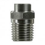 Форсунка 15100 (сила удара-100%), 1/4внеш, нерж.сталь