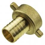 Резьбовое соединения для шлангов, 3,4внут, 19mm, 150°C, латунь