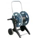 Тележка с катушкой для шланга низкого давления, 2 штекера 16mm (Universal), вместимость до 50m, ВxДx