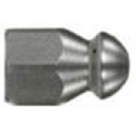 Форсунка каналопромывочная (с боем назад, вход 1/4внут, 3 отверстия, размер 065)