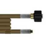 Шланг для прочистки труб и промывки канализации 20m (DN04 износостойкий, 300bar,  100°C, М22х1,5 вну