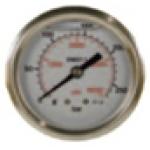 Манометр для АВД (нерж.сталь) 400bar 1/4 внешний
