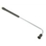 Копье для мойки днища 90°,  L=70cm, вход-M22х1,5внеш, нержавеющая сталь