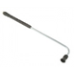 Копье для мойки днища 90°,  L=90cm, вход-M22х1,5внеш, нержавеющая сталь