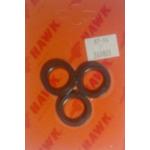 Комплект масл.уплотнений HAWK (3 манж.) 260803