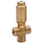 Предохранительный клапан VS 220, 2 входных отверстия, 250bar, 24л/мин, вход 3/8внут, bypass 3/8внут
