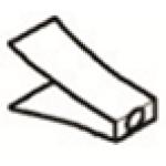 Дефлектор для LS3, нерж.сталь