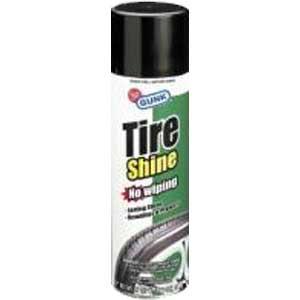 Чернение резины кондиционер + блеск шин TIRE SHINE  481 гр.