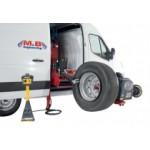 Мобильный станок шиномонтажный для грузовых авто (шиномонтаж + балансировка) M&B DIDO SERVICE MOBILE