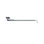Поворотная консоль (балка) с нерж. шлангом, 1,75m, 250bar, 360° потолочная, нержавеющая сталь, вход-