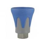 Пластиковая защита форсунки (синяя), 500bar, 1/4внут, нерж.сталь