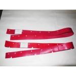 1014001500RF Переднее лезвие резинового валика Дл.537 мм ТОЛЩ. 3 мм