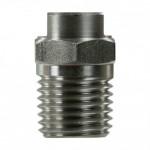 Форсунка 00060 (сила удара-100%), 1/4внеш, нерж.сталь Арт. R+M 61070