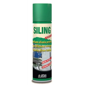 Защитная силиконовая смазка для пл. и метал. деталей Siling 250 мл