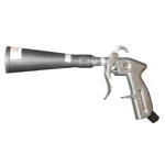 Пистолет для чистки воздухом с щеткой (механизм вращения с подшипником; адаптер для компрессора в ко