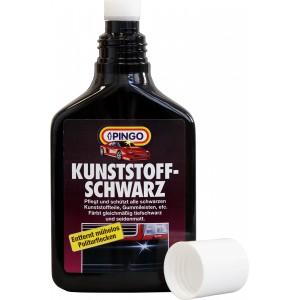 Средство для черных бамперов с подкрашивающим эффектом PINGO Kunststoff-schwarz фл. с губкой  250мл