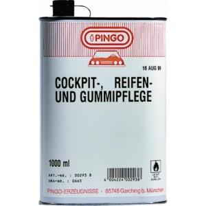 С-во для ухода за пластиком, шинами и резиной, чернитель резины PINGO Cocpit, Reifen-und gummipflege