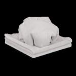 Микрофибровая полировальная салфетка MICROFASER FROTTEETUCH 40х40 см  2шт