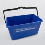 Пластмассовое ведро квадратное 18л blau