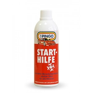 Средство для облегчения запуска двигателя PINGO Start-Hilfe 400мл