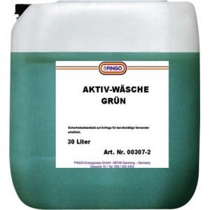 Активное моющее средство, зеленое PINGO Aktiv-Wasshe spun 30л