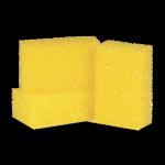 Губка жёлтая повышенной плотности.
