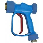 Пистолет низкого давления RB 65, 24 bar, 10l/min, 90°C, вход 1/2 внут, выход 1/2 внут РА