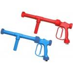 Пистолет низкого давления RB 65-350, синий, 24bar, 60l/min, 90°C, вход 1/2внут PA